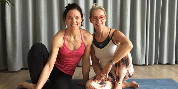 Yoga & personlig utveckling i Alicante med Mariell Ehlin och Ylva M Andersson